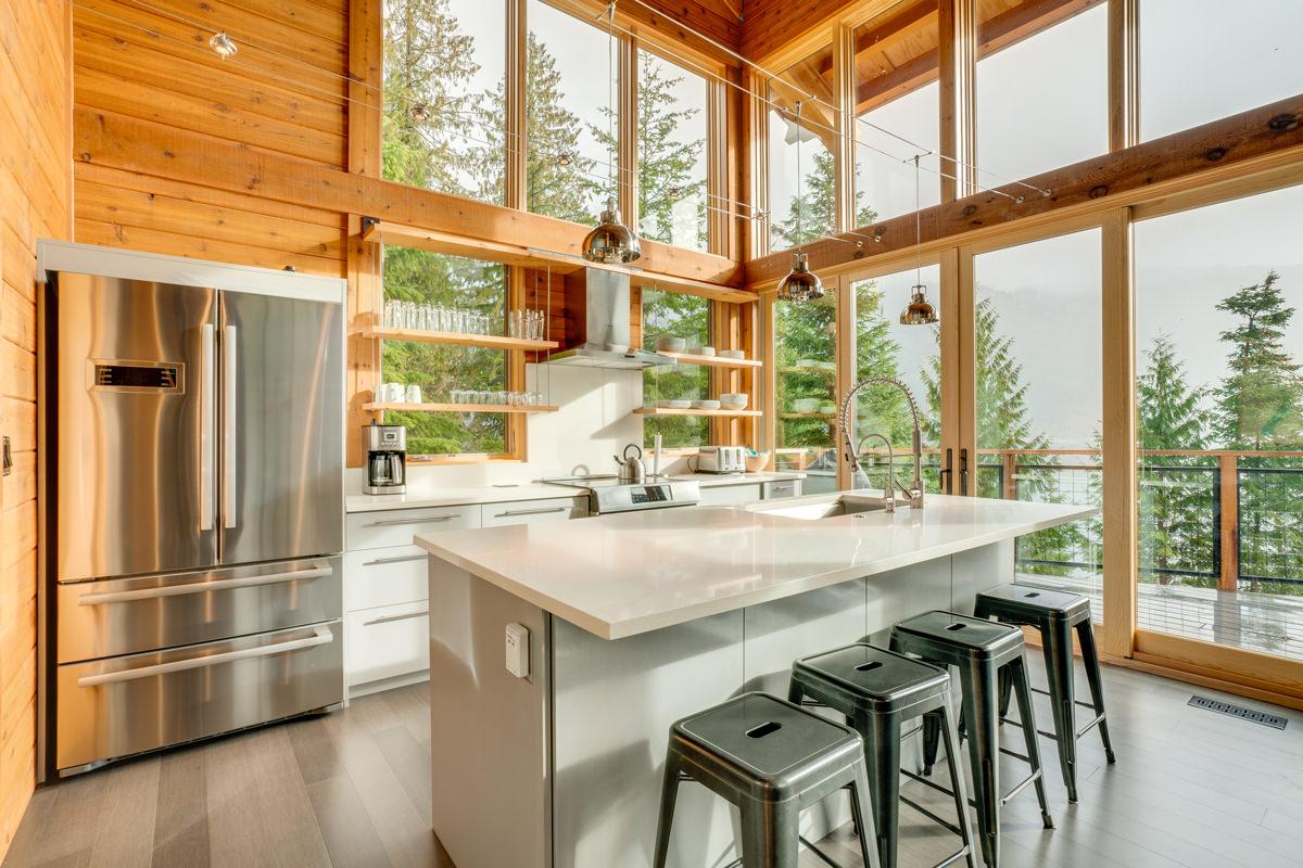 Trendy attractive kitchen