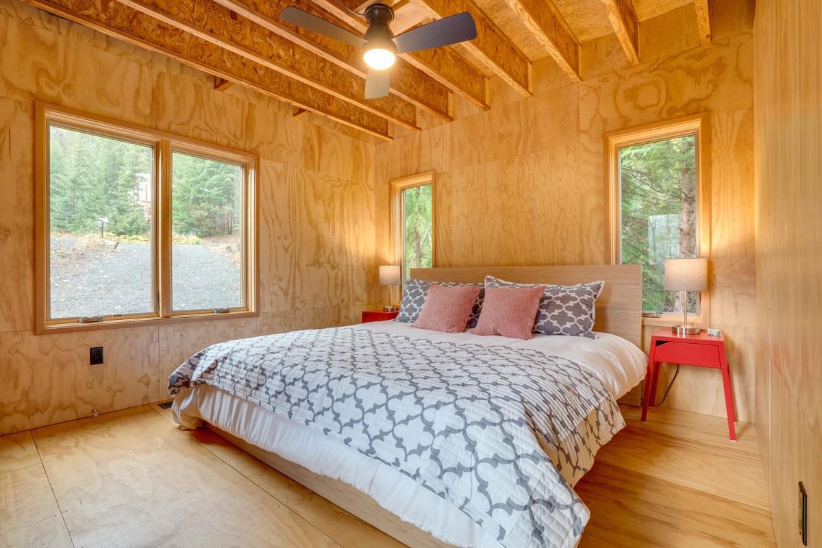 guest bedroom under construction