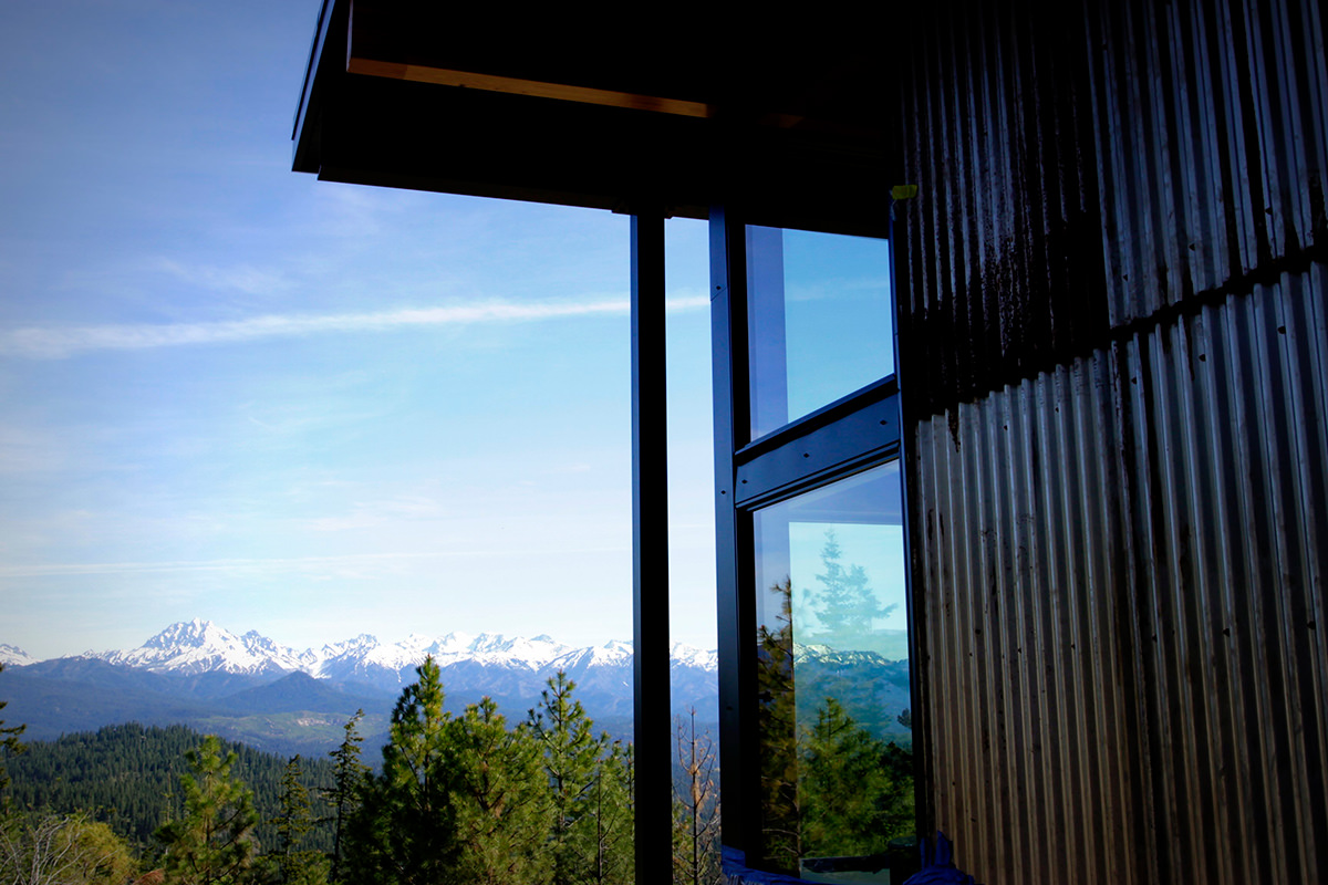 Attractive building materials mountain modern