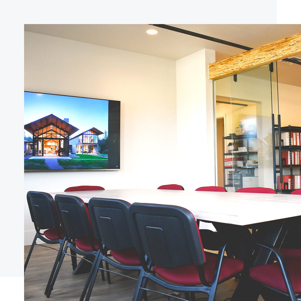 Merle Inc. office conference room invites customers