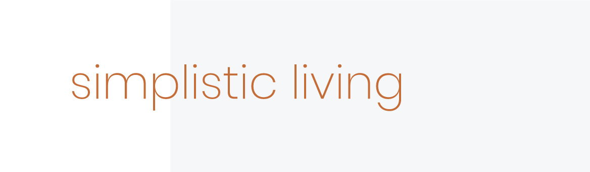 simpilsitic living